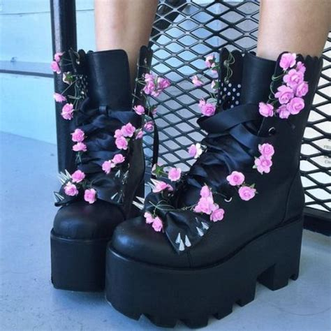 diy platform shoes pastel on