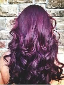 plum color hair plum color hair color and burgundy plum hair color on