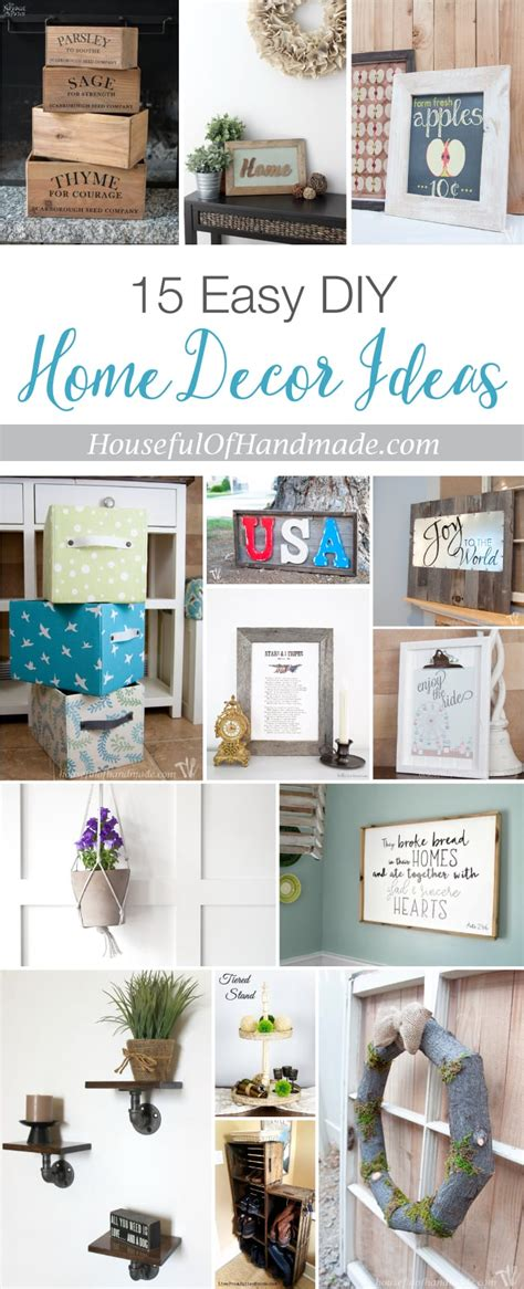 easy diy home decor ideas  houseful  handmade