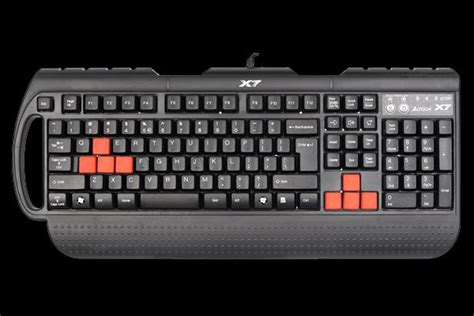 Keyboard X7 a4tech x7 g700 keyboard for pc gaming by a4tech