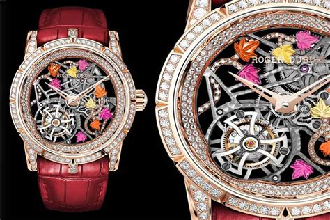 top watches sihh 2015 audemars roger dubuis