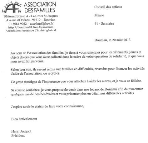 Lettre De Remerciement Beaux Parents Mairie De Sermaise