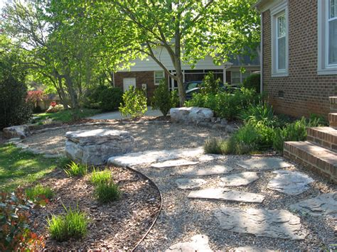 imgs for gt flagstone patio with pea gravel