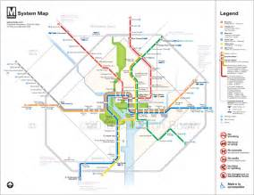 Dc Metro Map Pdf by Washington Metro Mapwith Streets Submited Images