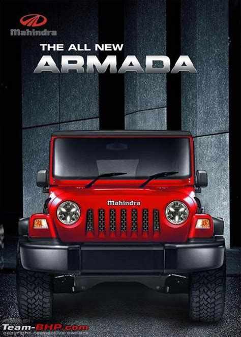 mahindra jeep 2016 mahindra armada for 2016 team bhp