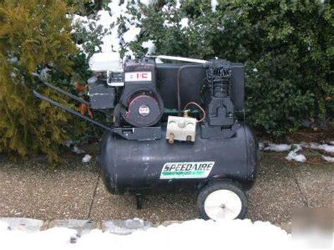 hp speedaire  dayton gas air compressor