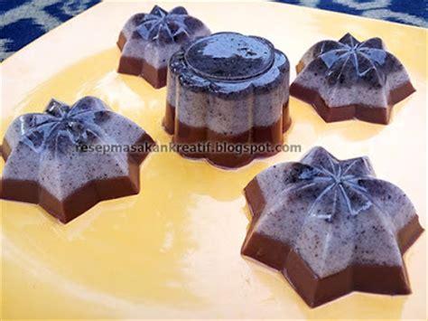 membuat puding busa coklat resep membuat puding coklat oreo busa aneka resep