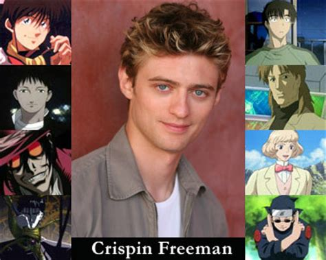 freeman voice acting crispin freeman voice acting roles