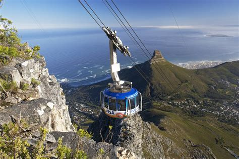 table mountain cable car table mountain aerial cableway cape town ua tourism