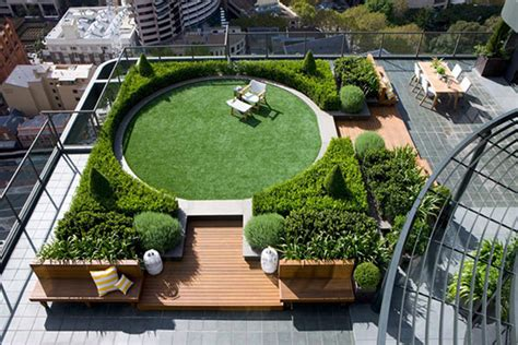 Rooftop Garden Design | easy to install rooftop gardens terrace gardens india by
