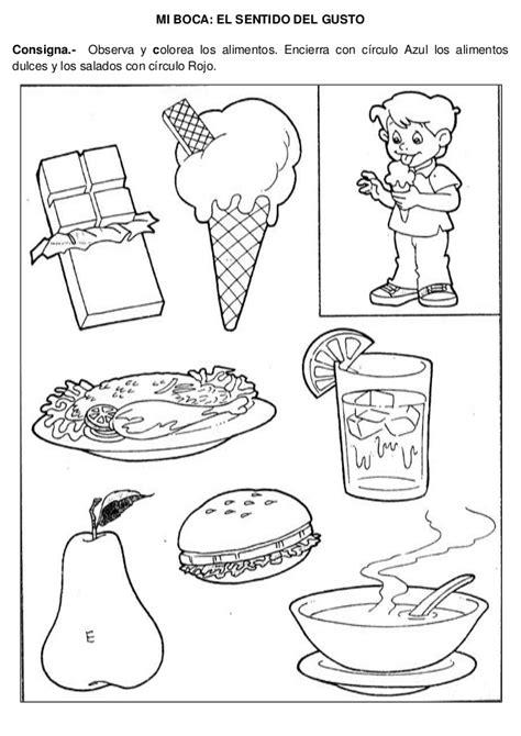 imagenes visuales gustativas cerca y lejos para colorear buscar con google fichas