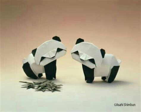 Origami Panda - panda origami おりがみ