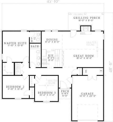 simple ranch house floor plans beautiful simple ranch house floor plans new home plans