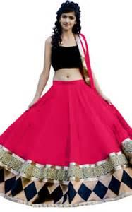 Indian Duvet Covers Buy Black Georgette Party Wear Ghagra Choli Online