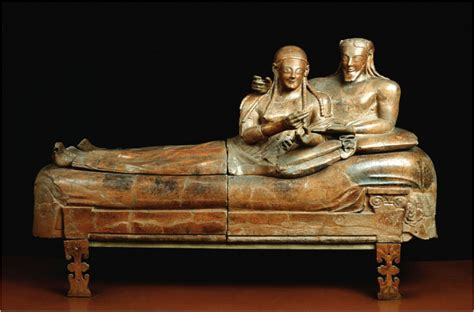 Sarcophagus Of Reclining by Italy And On