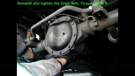 hummer differential how to change axle differential fluid in 4x4 truck