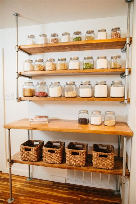 kitchen storage shelves ideas kitchen shelving ideas to organize the kitchen afrozepcom