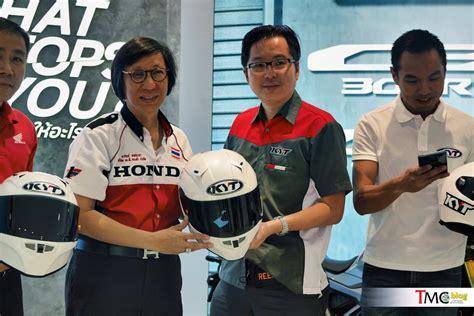 Helm Kyt Tahun 2018 Kyt Thunderflash Carbon Jadi Helm Resmi Akademi Balap Ap