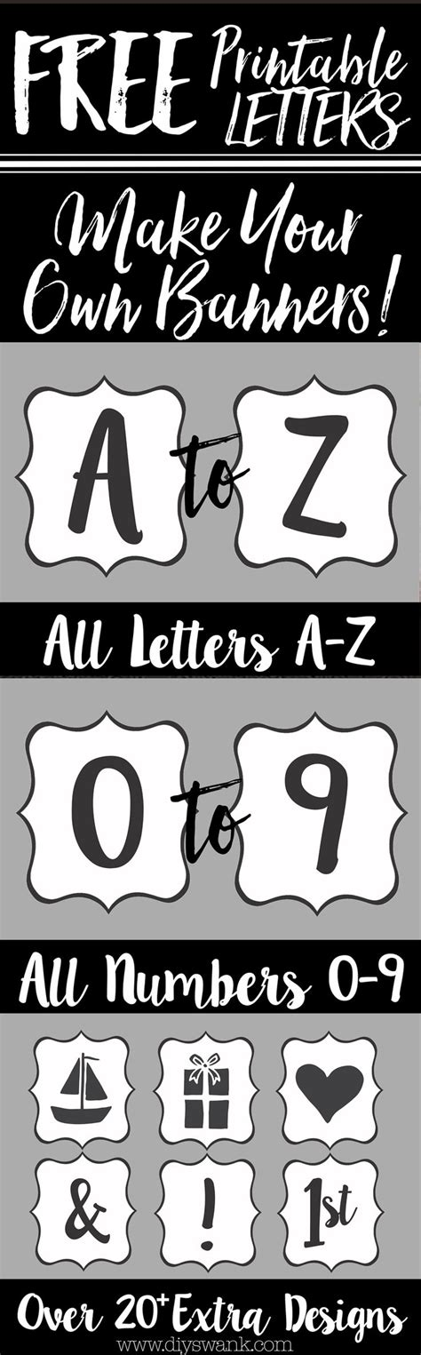 Create Wedding Banner Free by Best 25 Printable Letters Ideas On Printable