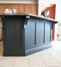 kitchen island makeover ideas remodelaholic kitchen island makeover with corbels part two