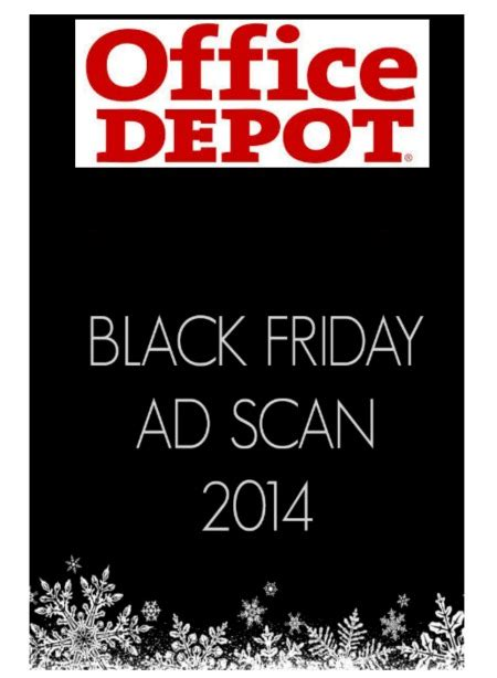 Office Depot Store Hours Black Friday Office Depot Black Friday Ad 2014