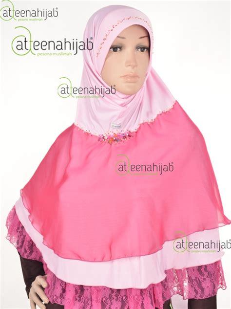 Jilbab Instan Cantik Untuk Pesta jual atteenahijab jilbab pesta kerudung sifon jilbab instan alifa mirzani jilbab attenahijab