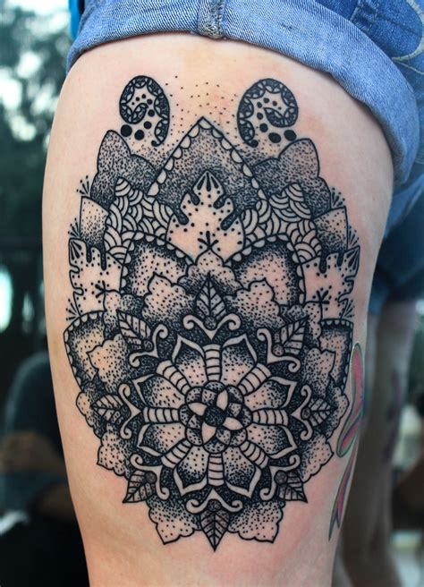 pointillism tattoo flower dot pointillism tattoos by mareva lambough