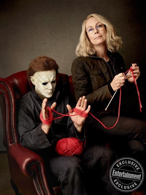 jamie lee curtis new movie halloween star jamie lee curtis ew cover shoot see the