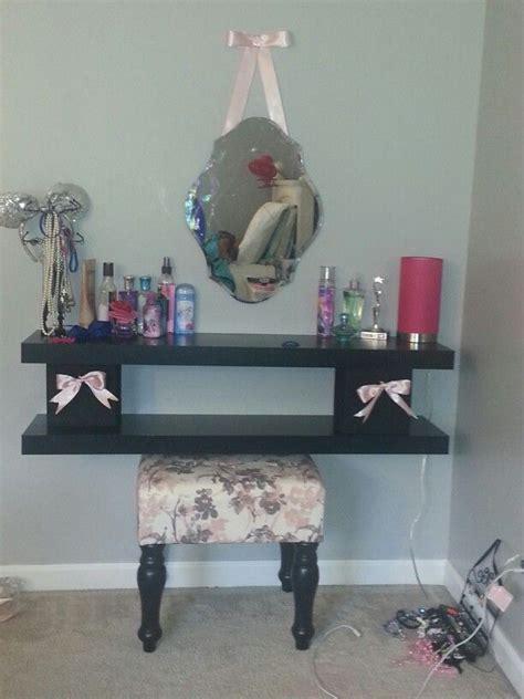 Handmade Makeup Vanity - diy vanity i made for kali diy vanity