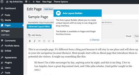enfold advanced layout editor posts enfold from scratch kriesi at premium wordpress themes
