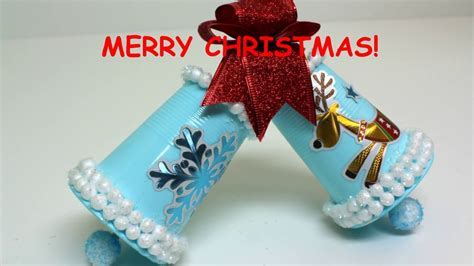 Recycled Christmas Decorations Using Plastic Cups   www
