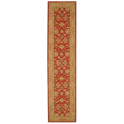 rug runners 2 x 14 safavieh anatolia ivory 2 ft 3 in x 14 ft runner an522a 214 the home depot