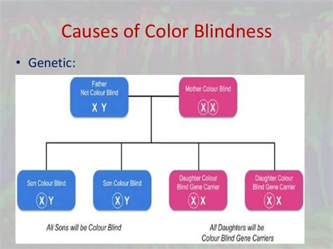 causes of color blindness oohub web genetic cause of color blindness
