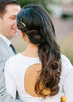 Wedding Hairstyles Pinned To The Side by Soft Curls Curls And Wedding Day On