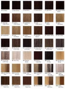 hair color chart hair colors for warm skin tones black