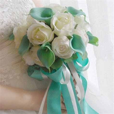 Handmade Wedding Bouquets - aliexpress buy new handmade original wedding