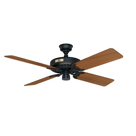 hunter ceiling fan blades hunter original with teak blades hunter ceiling fans
