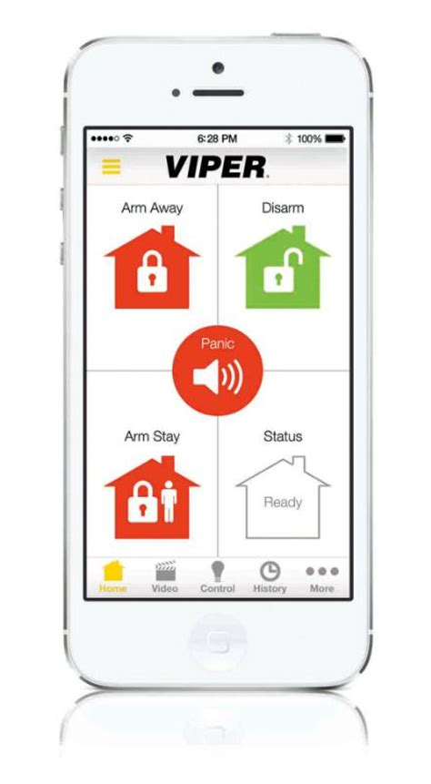 viper smartphone app monitors both car and home security
