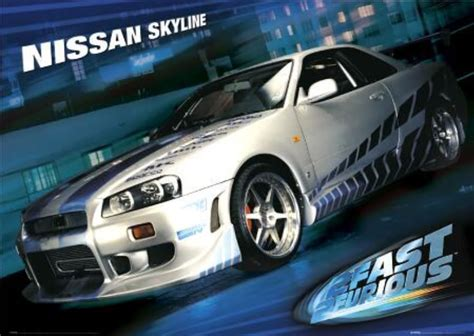 nissan skyline fast and furious 1999 nissan skyline gt r from 2 fast 2 furious sold for