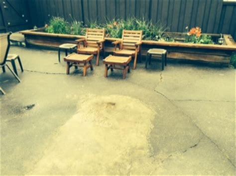 resurface large cracked concrete patio doityourself
