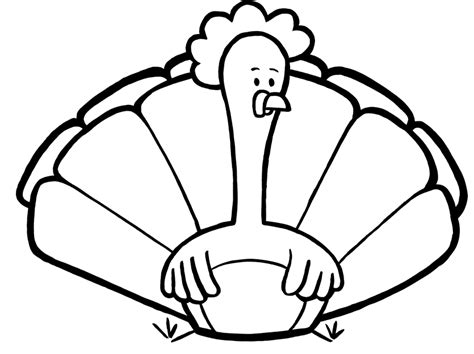printable turkey to color turkey feather coloring page az coloring pages
