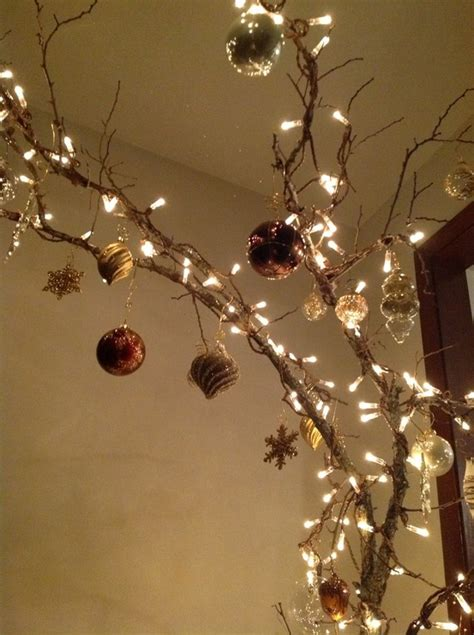 christmas tree limb crafts