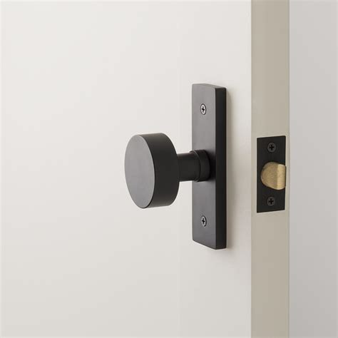 Kunci Rumah Cylinder Knob 1 rome small door set with cylinder knob flat black schoolhouse electric