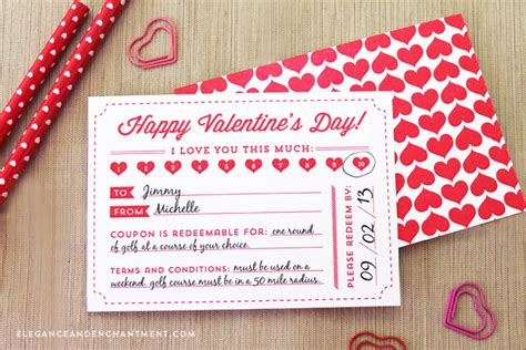 printable valentine s day coupon book template valentine s day coupon free printable