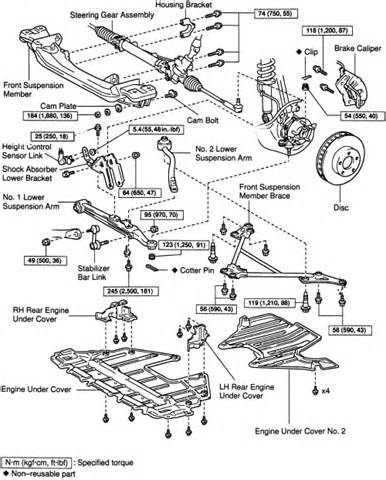 2001 Lexus Is300 Parts 2001 Lexus Is 300 Suspension Diagram 2001 Free Engine
