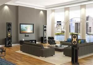 Modern Living Room Colors by Modern Living Room With Grey Color D Amp S Furniture
