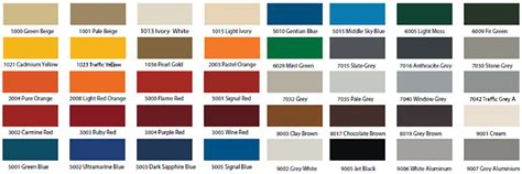 ral color ral colours chart reina design radiator