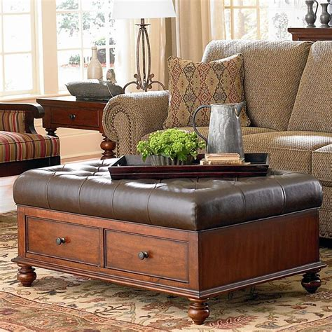 leather ottoman coffee table best 25 storage ottoman coffee table ideas on