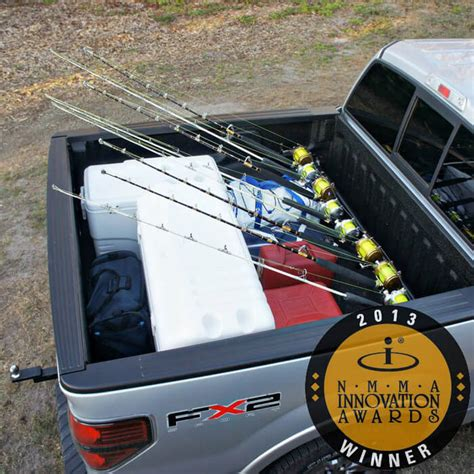 boat outfitters truck rod rack pick up truck rod holder boat outfitters