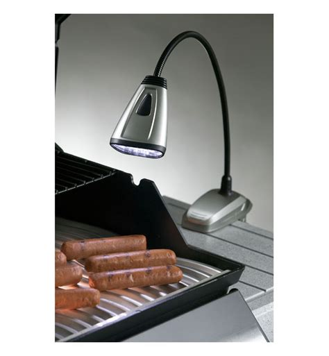 gooseneck clip on bbq grill light amazon com light it by fulcrum 20019 301 6 led wireless
